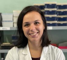Dott.ssa Anna Morgan, ricercatrice del laboratorio di Genetica Medica dell'Irccs Burlo Garofolo di Trieste