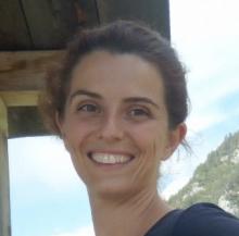 Dott.ssa Chiara Agostinis, ricercatrice della Clinica Ostetrica e Ginecologica dell'Irccs Burlo Garofolo